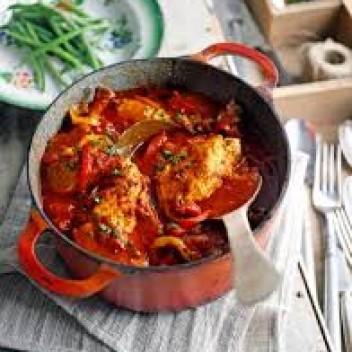 Spaanse Kip In Tomatensaus Dietisten Friesland